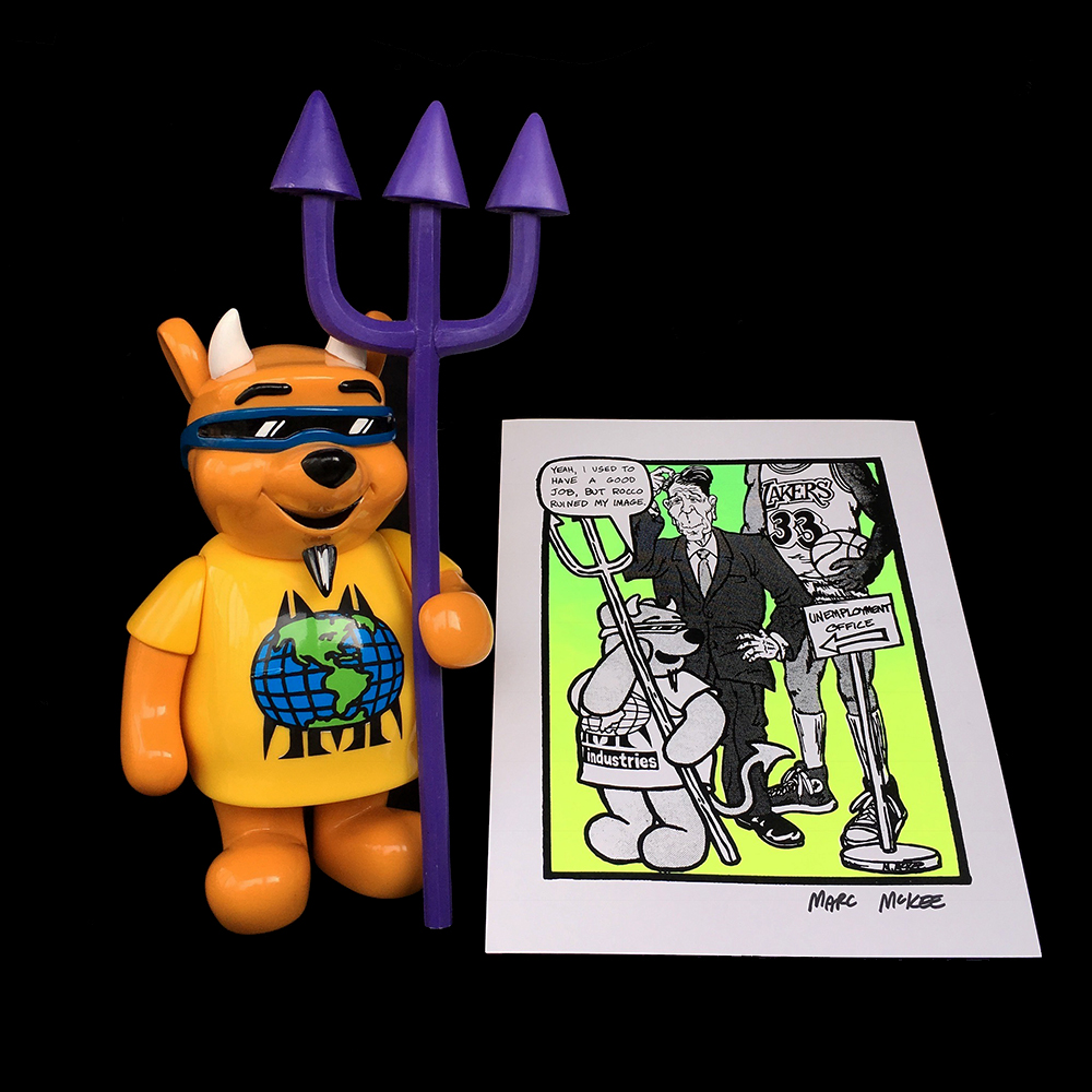 [Pre-Order] Marc McKee:Rocco 3 Devil Bear with Pre-Order Exclusive Screen Print