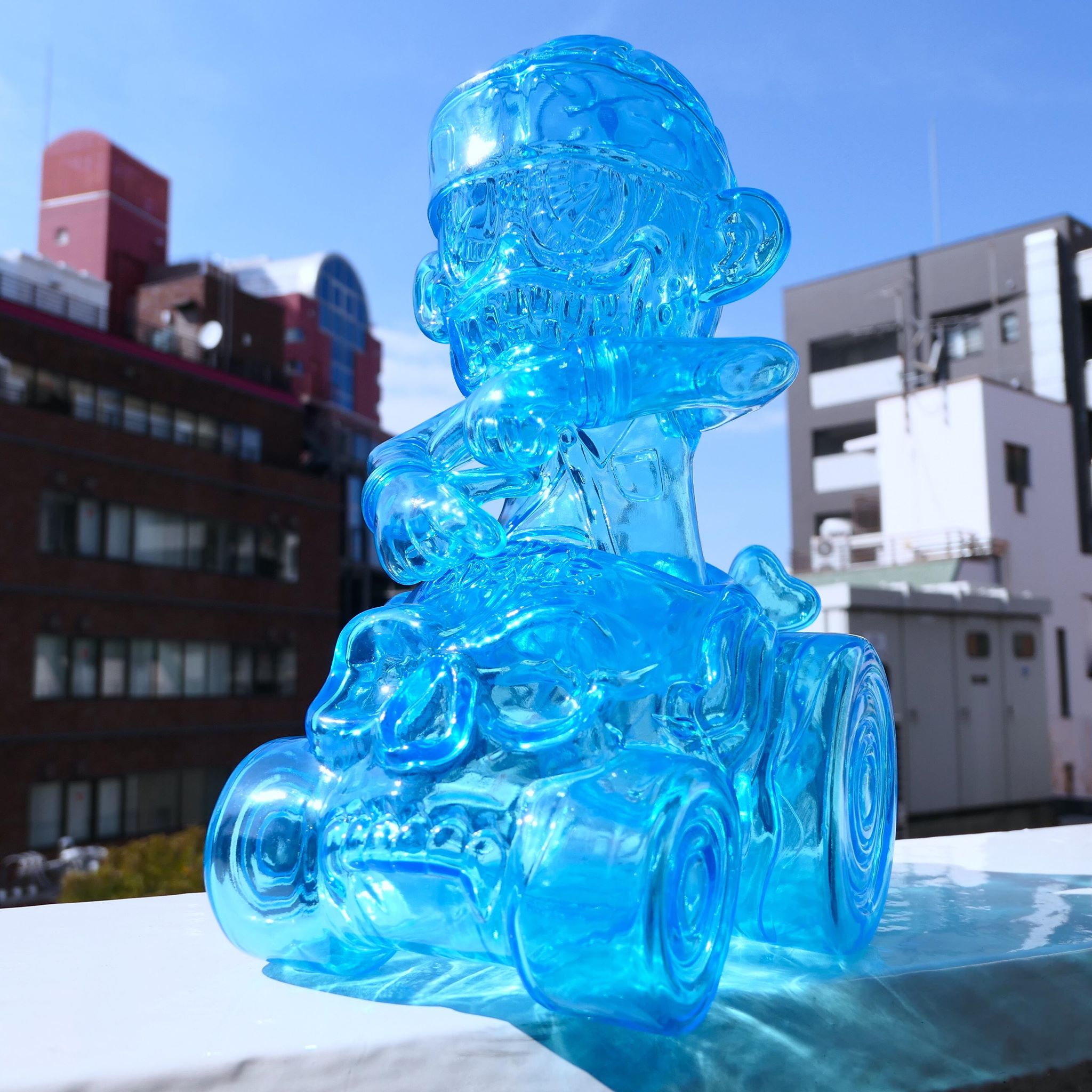 Suicidal Tendencies x BlackBook Toy:SKUM-kun on HELL RIDE Hologram