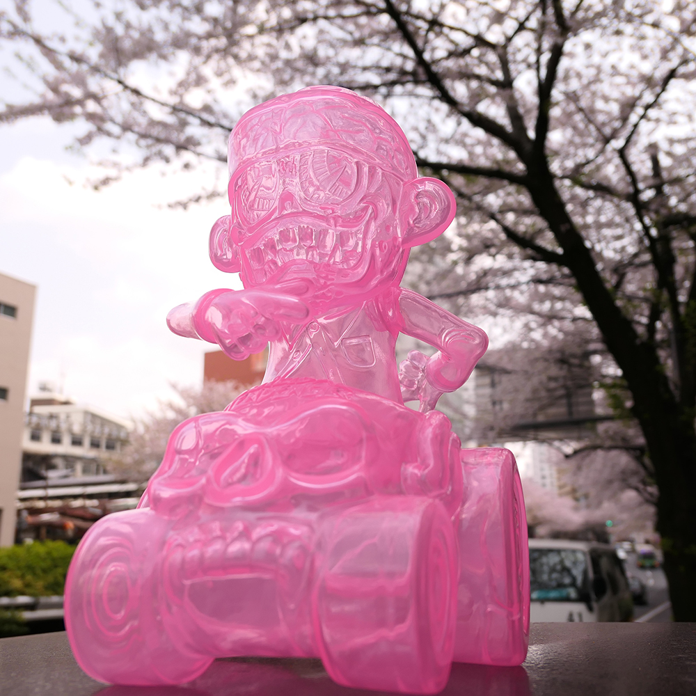 Suicidal Tendencies x BlackBook Toy:SKUM-kun on HELL RIDE Sakura Clear