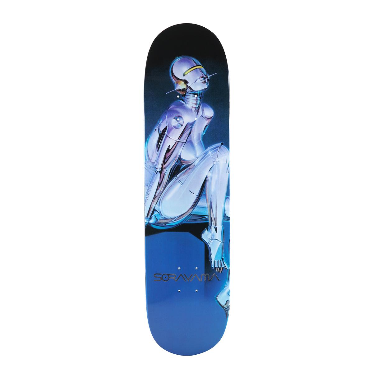 Hajime Sorayama:Sexy Robot 04 Skate Deck