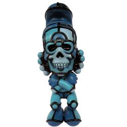 David Flores x HellFire Canyon Club x BlackBook Toy(デイビッド・フローレス×ヘルファイア) Deathead S'murks Blue Hue