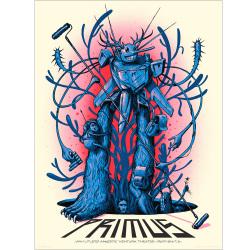 Jeff Soto(ジェフ・ソート) Primus(プライマス)Ventura 2013 シルクスクリーンポスター