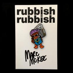 Marc McKee x Rubbish Rubbish(マーク・マッキー) Ghetto Duck ピンズ