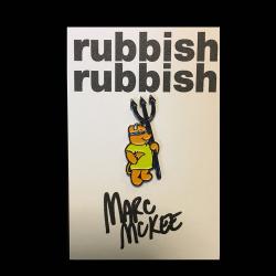 Marc McKee x Rubbish Rubbish(マーク・マッキー) Rocco Bear ピンズ