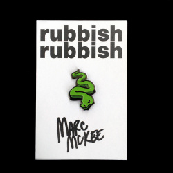 Marc McKee x Rubbish Rubbish(マーク・マッキー) Snake ピンズ