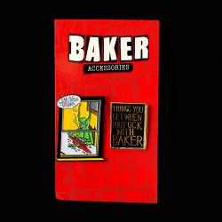 NECKFACE x Baker Skateboards(ネックフェイス) ピンズセット