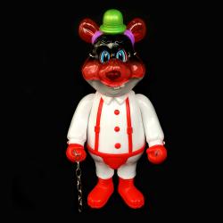 Frank Kozik x BlackBook Toy:A Clockwork Carrot Dim 11インチフィギュア Evil Mom Edition