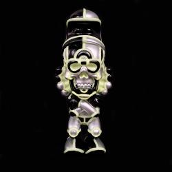 David Flores x HellFire Canyon Club x BlackBook Toy:Deathead S'murk Cyber Night