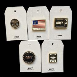 OBEY/Shepard Fairey(オベイ) ピンズ 1個単位