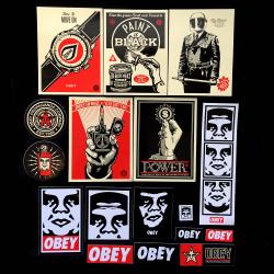 OBEY/Shepard Fairey(オベイ) アソートステッカーパック