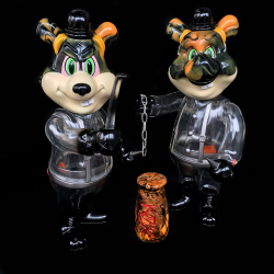 Frank Kozik x BlackBook Toy:A Clockwork Carrot Dim 11インチフィギュア Poison Edition