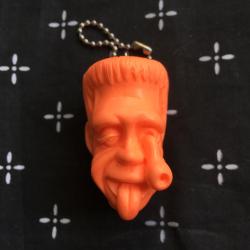 Monster Farm/Chop Franken resin key holder