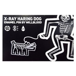 Stupid Krap:X-Ray Haring Dog ピンズ