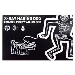 Stupid Krap:X-Ray Haring Dog ピンズ