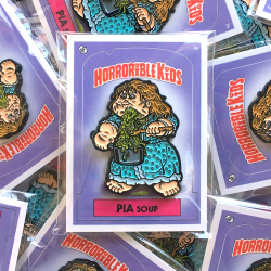 Horrorible Kids: PIA Soup Pin