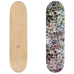 "Jackson Pollock (ジャクソン・ポロック):Skate Deck ""Jackson Pollock Studio2"""