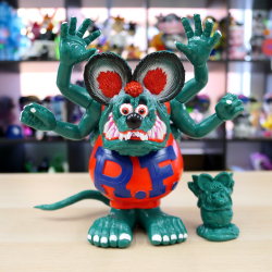 "Magical Mosh Misfits x BlackBook Toy:Asura Rat Fink ""GIGI"""