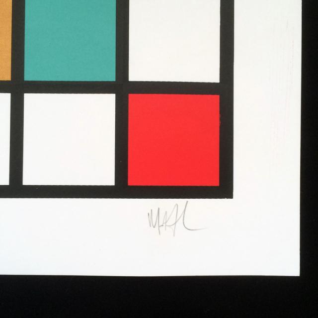 Allen Ficek(アラン・フィセク) GRID シルクスクリーンポスター