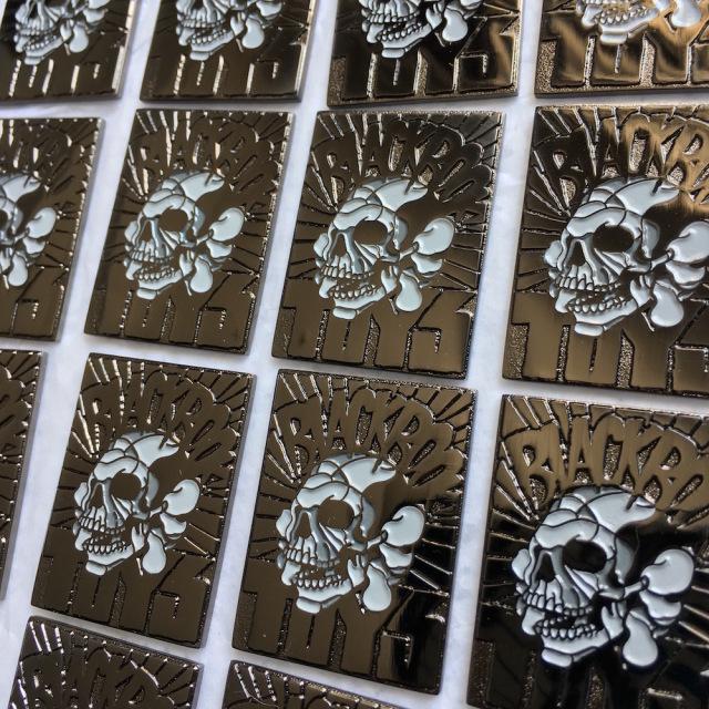 David Flores x BlackBook Toy:BBT Skull Pin