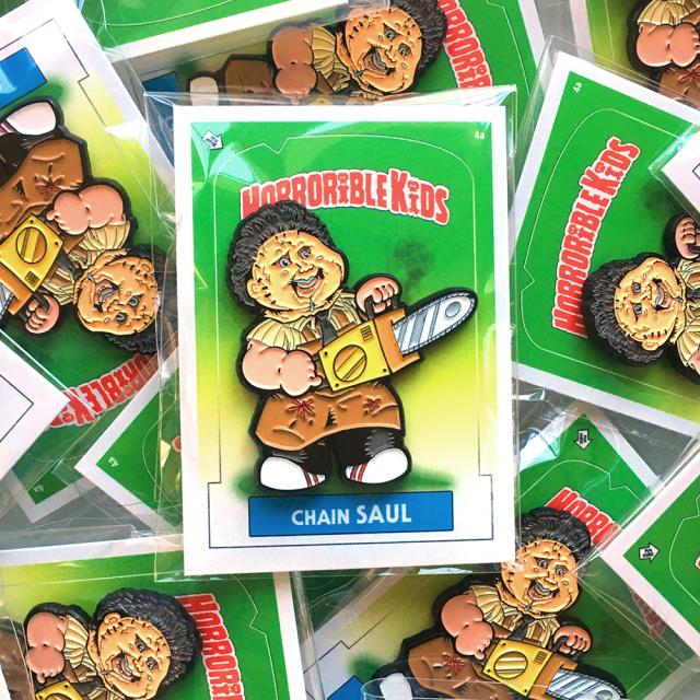 Horrorible Kids: Chain SAUL Pin