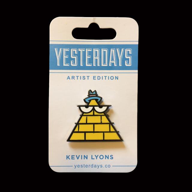 Kevin Lyons x Yesterdays Co: Pyramid Pin