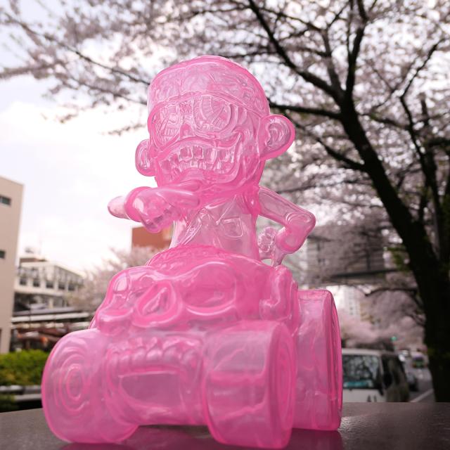 Suicidal Tendencies x BlackBook Toy:SKUM-kun on HELL RIDE Sakura Clear