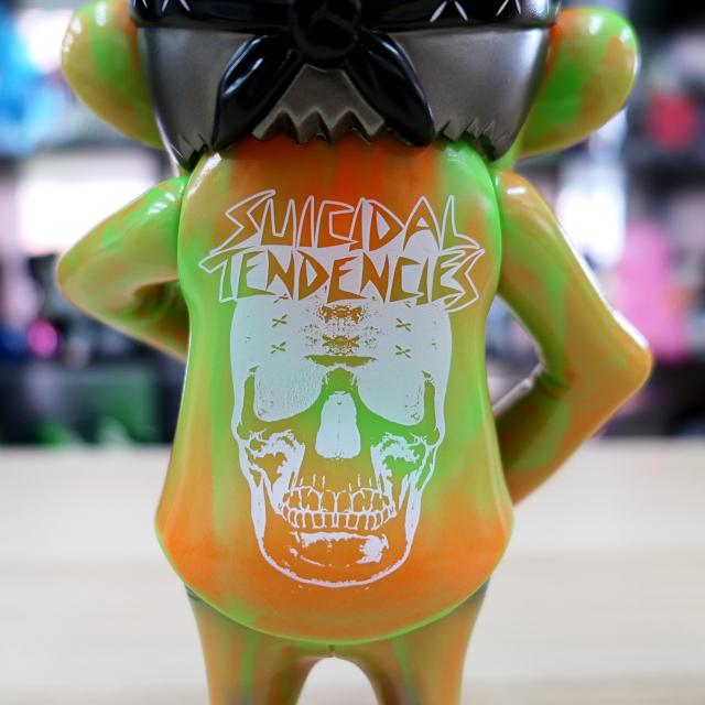 Suicidal Tendencies x BlackBook Toy:SKUM-kun Melon Marble Monster