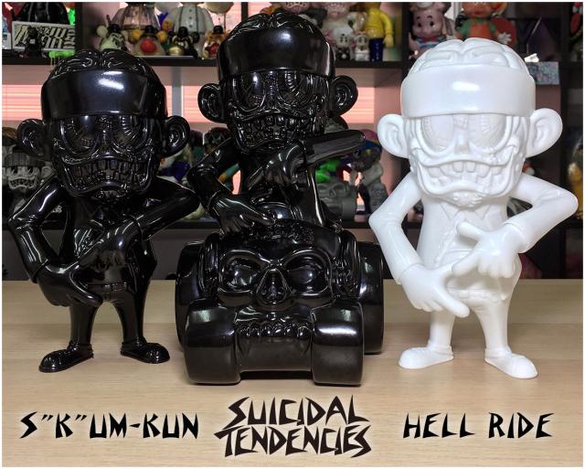 Suicidal Tendencies:SKUM-kun, HELL RIDE