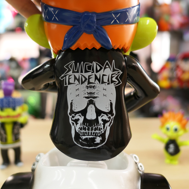 Suicidal Tendencies x BlackBook Toy:HELL RIDE Stay Gold