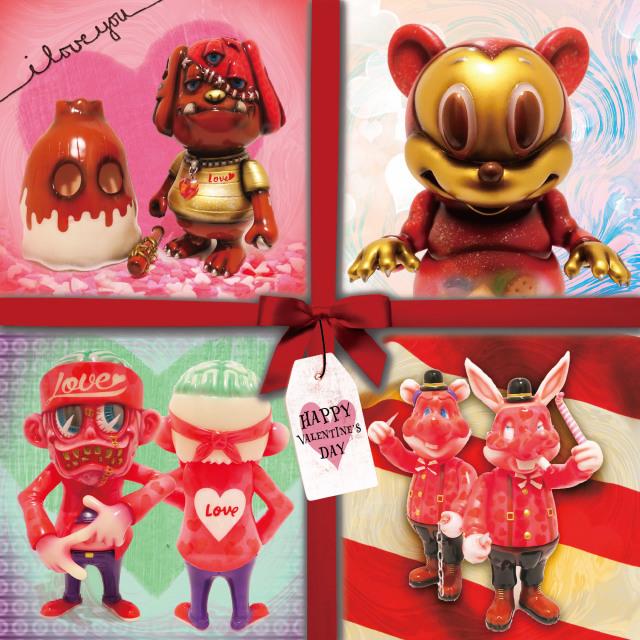 Valentines Day one offs by Marvel Okinawa