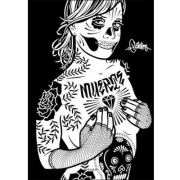 Mike Giant/REBEL8(マイク・ジャイアント) Muerte(ムエルテ) 作品集(ソフトカバー)