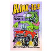 Frank Kozik(フランク・コジック) Blink182(ブリンク182):Frankfurt シルクスクリーンポスター