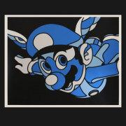David Flores(デイビッド・フローレス) 1UP(フルカラー) シルクスクリーンポスター