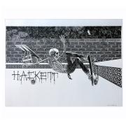 Marc McKee : Hackett Screen Print Silver Edition