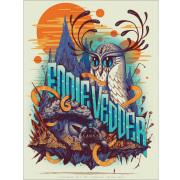 Jeff Soto(ジェフ・ソート) Eddie Vedder(エディ・ヴェダー)Sao Paulo 2014 シルクスクリーンポスター