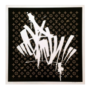 SLICK(スリック) LV Monogram シルクスクリーンポスター