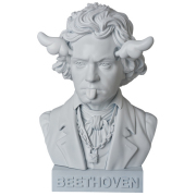 """D*Face(ディー・フェイス):Beethoven Bust Up statue 15"""""""