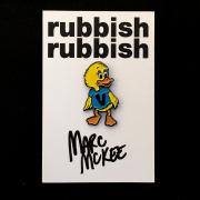 Marc McKee x Rubbish Rubbish(マーク・マッキー) V Duck ピンズ
