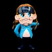 Suicidal Tendencies x BlackBook Toy(スイサイダル・テンデンシーズ) SKUM-kun 10インチフィギュア Old Skool Edition