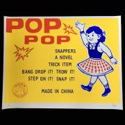 John Casey:Pop Pop シルクスクリーンポスター