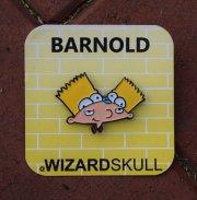 Wizard Skull:Barnold pin