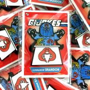 G.I. Jokes Commandin' BRANDON Pin