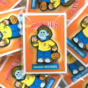 Horrorible Kids Masked MICHAEL Pin