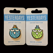 Kevin Lyons x Yesterdays Co: Bakers Dozen Pin