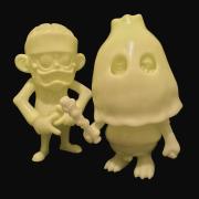 SKUM-kun&GUY GID blank(not a set)