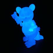Ron English x BlackBook Toy( ロン・イングリッシュ) Mousezilla BL GID with mini