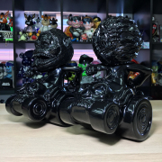 MISHKA x Lamour Supreme:KONG on HELL RIDE, KEEP WATCH on HELL RIDE HELL BK(not a set)