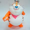 Ron English( ロン・イングリッシュ) Fat Tony(ファット・トニー) 9インチフィギュア Fluorescent Orange Open Edition