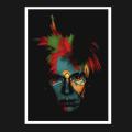 David Flores(デイビッド・フローレス) WARHOL(ウォーホール) シルクスクリーンポスター