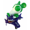 """Ron English x BlackBook Toy( ロン・イングリッシュ) Mousemask Murphy in Airplane """"Supervillain"""" Edition"""